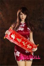 Qita Doll 164cm Eカップ #86ヘッド 冬ちゃん 春節祝い tpeラブドール
