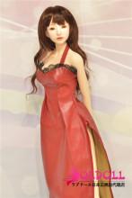 Mini Doll ミニドール 高級シリコン製 セックス可能 Moeヘッド 72cm 軽量化 3.5㎏ 収納が便利  使いやすい 普段は鑑賞用 小さいラブドール 女性素体 フィギュア cosplay