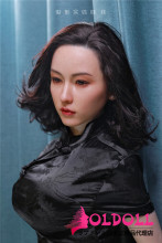 JYDOLL フルシリコン製ラブドール 163cm  #映莲(yinglian)ちゃん スターメイク 睫毛と眉毛植毛あり