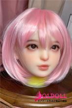 Real girl ヘッド単体 A3ヘッド ヘッドのみ 中小規格ヘッド TPE製 掲載画像職人メイク M8ボルト採用 100cm-120cmのボディにて適用 (ボディと台座など含めません)