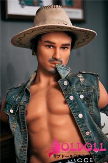 Irontechdoll トルソー  #4番ヘッド  TPE製男性ラブドール  ペニス取り外す式  male doll