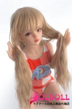Sanhui doll 105cm AAカップ バスト平 #1ヘッド フルシリコン製ラブドール ミニドール