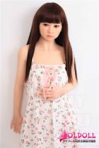My Loli Waifu 145cm Aカップ 千晴Chiharuちゃん シリコン製ヘッド+TPE製ボディー ロり系等身大リアルラブドール
