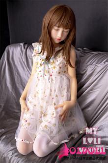 My Loli Waifu 138cm AAカップ 莉子Rikoちゃん 瞑りタイプ シリコン製ヘッド+TPE製ボディー ロり系等身大リアルラブドール