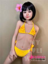 My Loli Waifu 126cm AAカップ Julieちゃんヘッド シリコン製ヘッド+TPE製ボディー ロり系等身大リアルラブドール