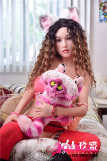 Jiusheng doll 150cm Dカップ #4ヘッド シリコンヘッド+tpe製ボディ 等身大リアルラブドール