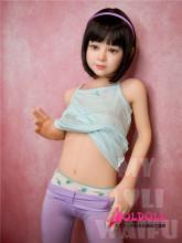 My Loli Waifu 126cm AAカップ Julieヘッド シリコン製ヘッド+TPE製ボディー ロり系等身大リアルラブドール