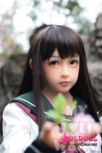 My Loli Waifu 138cm Aカップ 陽葵Harukiちゃん TPE製ヘッド+TPE製ボディー ロり系等身大リアルラブドール