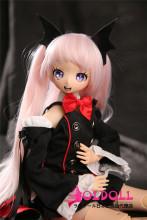 Mini Doll ミニドール 58cm 普通乳 BJD Lulu 高級TPE製 セックス可能 軽量化 1.5㎏ 収納が便利 使いやすい 普段は鑑賞用 小さいラブドール 女性素体 フィギュア cosplay