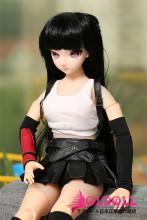 Mini Doll ミニドール Tifaヘッド 58㎝普通乳TPE+BJD セックス可能 軽量化 1.5㎏ 収納が便利 使いやすい 普段は鑑賞用 小さいラブドール 女性素体 フィギュア cosplay