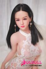 JYDOLL 148cm Eカップ 小咪ヘッド (xiaomi)シリコン製ヘッド+TPE製ボディ スターメイクラブドール  睫毛と眉毛植毛あり