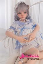 Sanhui doll シームレス 103cm Gカップ巨乳 #1ヘッド フルシリコン製ラブドール ミニドール