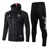 18/19 PSG Paris Jordan UCL Black Hoodie Jacket Tracksuit