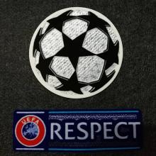 2018-2019 UCL Champion League Patch with Respect Patch
