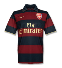 2007-2008 Arsenal Third Away Retro Soccer Jersey