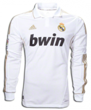 2012 RM Home Long Sleeve Retro Soccer Jersey