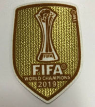 2019 FIFA Club World Cup Champions Patch