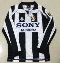 1997-1998 JUV Home Retro Long Sleeve Soccer Jersey