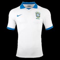 2019 Brazil Away White 1:1 Quality Fans Soccer Jersey