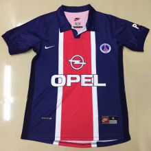 1998/1999 PSG Home Retro Soccer Jersey