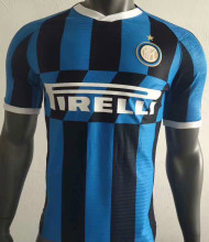 2019/20 Inter Milan Home Player Version Soccer Jersey