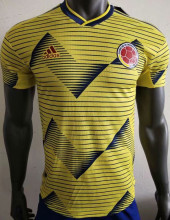 2019 Copa America Colombia Home Player Soccer Jersey