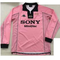 1997-1998 JUV Away Retro Long Sleeve Soccer Jersey