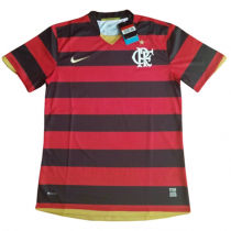 2008 Flamengo RJ Home Red And Black Retro Soccer Jersey
