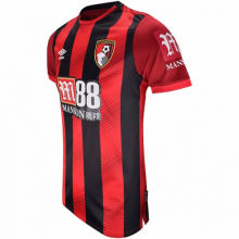 2019/20 Bournemouth Home Red And Black Fans Soccer Jersey