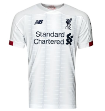 2019/20 Liverpool Away 1:1 Quality White Fans Soccer Jersey