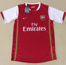 2006-2007 Arsenal Home Retro Soccer Jersey