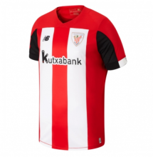 2019/20 Bilbao Athletic Home Red And White Fans Soccer Jersey