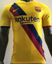 2019/20 BA Away Yellow Player Version Soccer Jersey