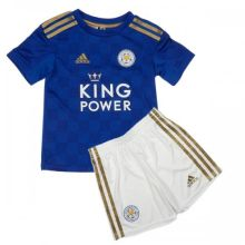 2019/20 Leicester Home Blue Kids Soccer Jersey