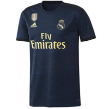 2019 RM 1:1 Quality Black Fans Soccer Jersey