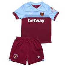 2019/20 West Ham United Home Red Kids Soccer Jersey