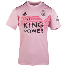 2019/20 Leicester City Away Pink Fans Soccer Jersey