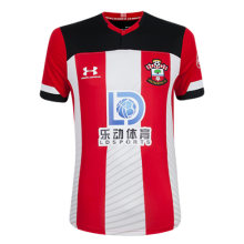 2019/20 Southampton Home Red And White Fans Soccer Jersey