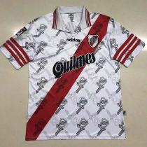 1996 River Plate Home Retro Soccer Jersey