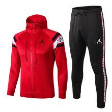 2019/20 PSG Paris Jordan Red Hoodie Jacket Tracksuit