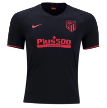 2019/20 Atletico Madrid 1:1 Quality Away Black Fans Soccer Jersey