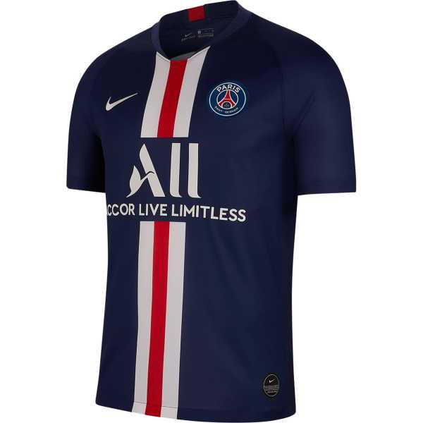 2019/20 PSG Paris Home 1:1 Quality Blue Fans Soccer Jersey