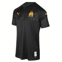 2019/20 Marseille Away Black Fans Soccer Jersey