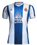19/20 Espanyol Home Blue And White Fans Soccer Jersey