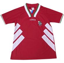 1994 Bulgaria Away Red Retro Soccer Jersey