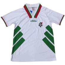 1994 Bulgaria Home White Retro Soccer Jersey