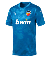 2019/20 Valencia Blue Second Away Soccer Jersey