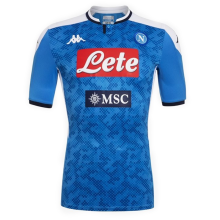 2019/20 Naples 1:1 Quality Home Blue Soccer Jersey