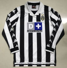 1999-2000 Juventus Home Retro Long Sleeve Soccer Jersey