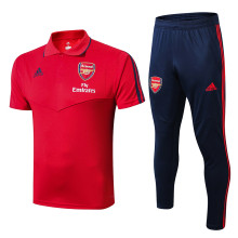 2019/20 Arsenal Red Polo Tracksuit